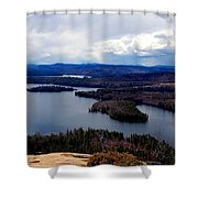 Squam Lake New Hampshire Shower Curtain