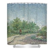 Square Saint Pierre Shower Curtain