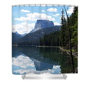 Square Top Shower Curtain
