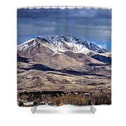Squaw Butte Shower Curtain