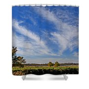 Squaw Creek Landscape Shower Curtain