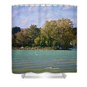 Squaw Island Shower Curtain