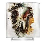 Squaw Shower Curtain