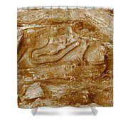 Squaw Rock 2  Shower Curtain