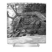 Squaw Rock  Shower Curtain