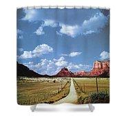 Highway 179 Shower Curtain