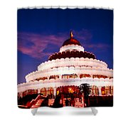Sri Sri Ravi Shankar Ashram India Shower Curtain