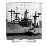 Ss American Victory Shower Curtain by David Lee Thompson