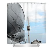 S.s. Badger Lifeboats Shower Curtain