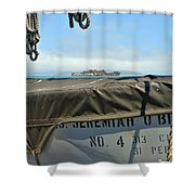 Ss Jeremiah O'brien -4 Shower Curtain