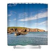 St Abbs Cliffs Shower Curtain