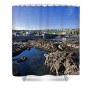 St Abbs Scotland Shower Curtain