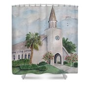 St. Andrews By The Sea Shower Curtain