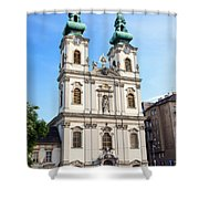 St Anne's Church In Budapest Shower Curtain