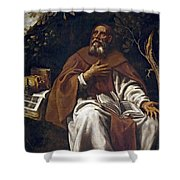 St Anthony Abbot Shower Curtain