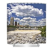 St. Anthony Falls 1 Shower Curtain