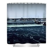 St Anthony Falls Minneapolis Shower Curtain