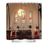 St. Augustine Apse Shower Curtain