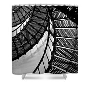 St. Augustine Lighthouse Steps Shower Curtain
