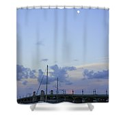 St. Augustine Sunset Shower Curtain