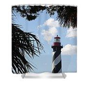 St. Ausgustine Lighthouse Shower Curtain