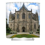 St Barbaras Cathedral Kutna Hora Czech Republic Shower Curtain