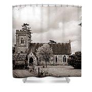 St Barnabas Faccombe Shower Curtain
