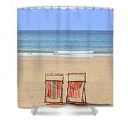 St Brelade's Bay - Jersey Shower Curtain