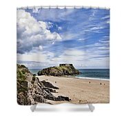 St Catherines Island 1 Shower Curtain