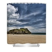 St Catherines Island 3 Shower Curtain