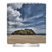 St Catherines Island 7 Shower Curtain