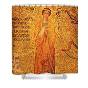 St Cecilia  Shower Curtain