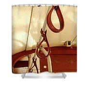 St. Charles Streetcar Shower Curtain