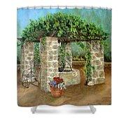 St. Clement's Castle Shower Curtain