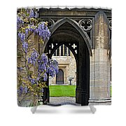 St. Cross Arches Shower Curtain