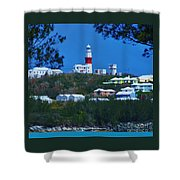 St. David's Light Bermuda Shower Curtain