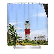 St. Davids Lighthouse Shower Curtain