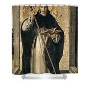 St. Dominic De Guzman Shower Curtain