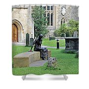 St Edmund Of Abingdon Shower Curtain