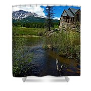 Church On The Rock Shower Curtain