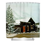 St Elmo Snow Shower Curtain