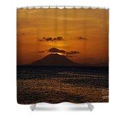 St Eustatius Shower Curtain