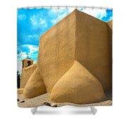 St. Francis D'asis Ranchos De Taos New Mexico Shower Curtain