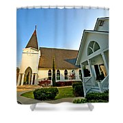 St. Francis - Front 3 Shower Curtain
