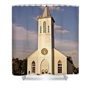 St. Gabriel The Archangel Catholic Church Shower Curtain