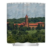 St. Gabriel's From Valley Forge Shower Curtain