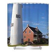 St. George Lighthouse Shower Curtain
