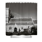 St Georges Church Preshute Shower Curtain