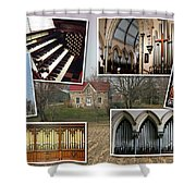 St George's Guelph Shower Curtain