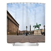St Georges Hall, Liverpool, Merseyside Shower Curtain